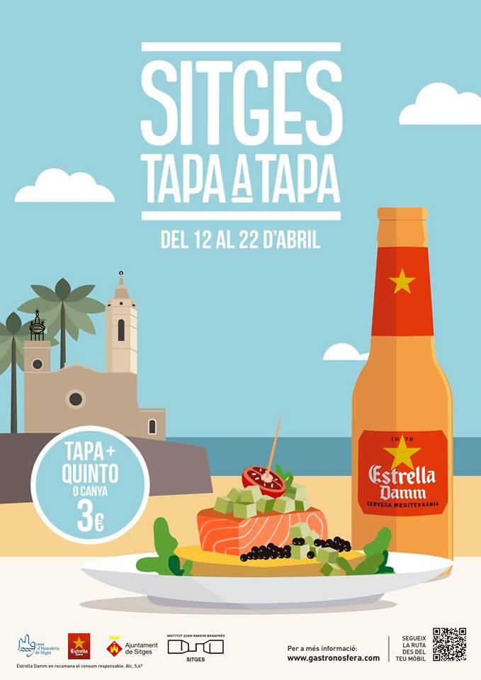 Sitges Tapa a Tapa edició Primavera 2018